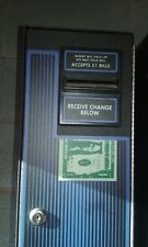 Coffee Inns Change Mate Cm-222 Dollar Bill Changer Change Machine w/ Key Used