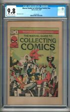 Marvel Guide to Collecting Comics #nn (1982) CGC 9.8  OW/W Pages  Walt Simonson