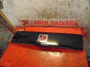10 09 08 Saturn Vue oem rear hatch liftgate center trim panel & handle & lights