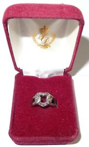 PREMIER DESIGNS SZ 6 FOREVER YOURS HEART RING SILVER PLATED PROMISE RING  GIFT