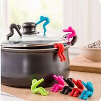 6 Colors Kitchen Silicone Gadgets Raise The Lid Overflow Device Stent Tool