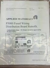 Applied materials P5000 Fused Wiring Distribution Board Retrofit # 0242-70781