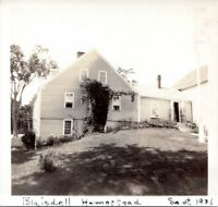 1931 Winterport Maine Blaisdell Homestead Side View Vintage Photo