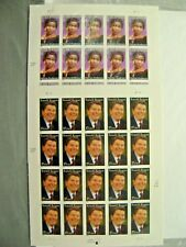 New Ronald Reagan Marian Anderson 37 Cent Stamps Full Sheets Sealed Collectible