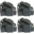 Ignition Coil For 94-2003 Chevrolet S10 2000-2005 Impala Set of 4  for sale