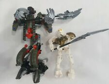Bionicle Lot of 2 Takanuva Titan 3287 Makuta and Rahks Lego Figures