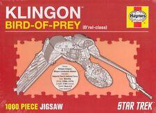 Haynes Klingon Bird-of-Prey (B'rel-class) 1000 Piece Jigsaw BRAND NEW BOOK