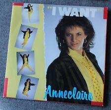 Anne Claire, i want, SP - 45 tours