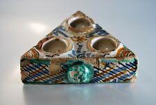 ANTIQUE ISLAMIC inkwell Ottoman Morocco Iznic Turkish Pottery