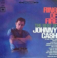 "JOHNNY CASH ""RING OF FIRE"" PREMIUM QUALITY USED LP (NM/EX)"