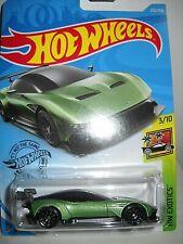 Hotwheels Aston Martin Vulcan Car On Card