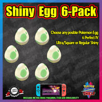 Square Shiny Egg 6-Pack | Choose Yours | Isle of Armor | Pokemon Sword Shield
