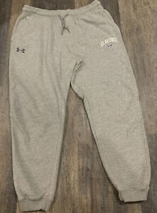 Under Armour Joggers Loose Fit Cotton/Poly Sweatpants Air Force XL