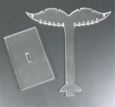 10Set Kunststoff Ohrring Display Ständer Schmuck-Display Rack Schmuckbaumständer