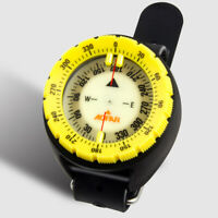 AOFAR Diving Compass AF-Q60-Y Swimming Sport Wristband Night Vision Navigation
