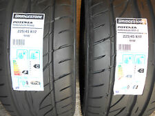 2x 225/45 17 BRIDGESTONE  2x 2254517 BRAND NEW PREMIUM QUALITY CAR TYRES