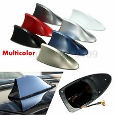 Auto Car Exterior Shark Fin Universal Roof Antenna Radio FM/AM Decorate Aerial