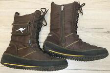 KangaROOS !!  Damen Kurzschaft- Stiefel Boots // Gr. 38 UK 5 //  braun