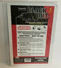New Summit 1192-36 Professional High Grade Black Out Rodent Glue Pads 2 Pack Nip
