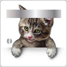 Sticker boites aux lettres déco Chat 30x30cm 3505 3505