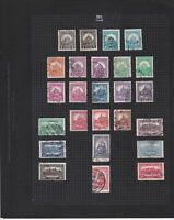 hungary 1926-1932 used  stamps page ref 17637