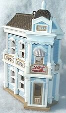 Hallmark Keepsake Ornament 1988 Hall Bro's Card Shop #5 Nostalgic Houses Shops