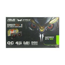 ASUS STRIX GeForce GTX 980 OC 4 GB DDR5 256-bit DisplayPort HDMI 2.0 DVI-1 GC