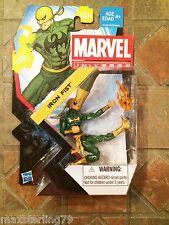 "Marvel Universe IRON FIST GOLD #05 Series 5 X-Men 3.75"" Avengers Spider-Man"