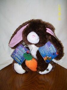 Shining Stars Chocolate Bunny Plush With Tags