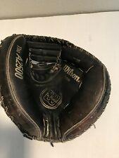 """Wilson A2500  34.5"""" Mesh Baseball Softball Catchers Mitt Right Hand Throw"""