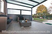 Aluminium Terrassenüberdachung - Terrassendach incl.16mm Stegplatten 4,00x 3,50m