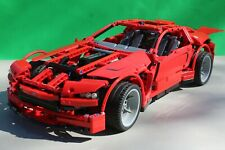 LEGO TECHNIC 8070 SUPERCAR WITH POWER FUNCTIONS - 100% COMPLETE & VGC