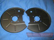 Backplate Set (pair) in BLACK - Brake Disc Left & Right, MG MGB, GT V8
