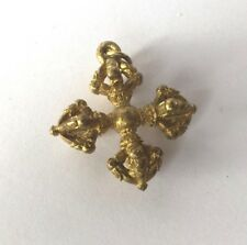 Statuette laiton amulette bouddhisme BOUDDHA NEPAL VAJRA Thaïlande Asie b170'