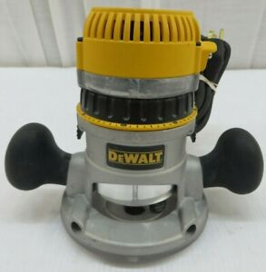DEWALT DW618 12 Amp Corded 2-1/4 HP Variable Speed DW6184 Fixed Base Router