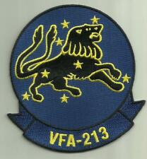 VFA-213 U.S.NAVY PATCH BLACKLIONS FIGHTER ATTACK SQDN AIRCRAFT NAS OCEANA USA