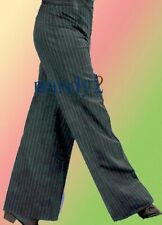 MP05 men's Ballroom Latin Salsa Dance Pants Competition Trousers black L size