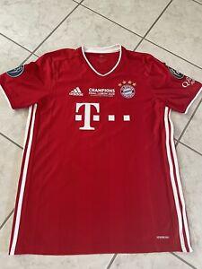 FC Bayern München Trikot adidas rot Grösse L Joshua Kimmich