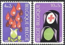 Belgium 1974 Red Cross/Medical/Health/Blood Donors/Welfare 2v set (n29318)