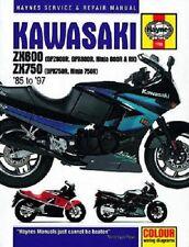 HAYNES SERVICE MANUAL KAWASAKI ZX600C NINJA 600R 1988-1997 & 750R 1987-1990 1780