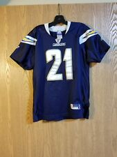 LaDainian Tomlinson San Diego Chargers Sewn Reebok Jersey Youth M 10-12