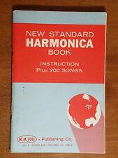 New Standard Harmonica Book, M.M. Cole