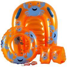 Poolmaster Little Ones Crab Swim Set Pool Float Inflatable Raft Swimming Toy