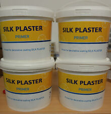 Silk Plaster Grundierung für Baumwollputz,Flüssigtapete-5L(7,5Kg)-Primer