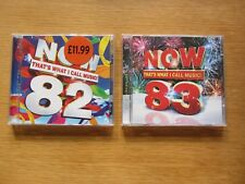 Now That's What I Call Music! Cds - Volume 82 & Volume 83