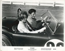 THE KILLERS Original Vintage Photo 1963 AC Cobra 289 Race Car ANGIE DICKINSON