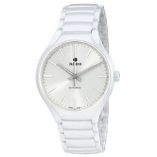 Rado True L White Dial Mens Ceramic Watch R27058012