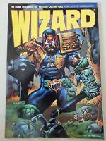 WIZARD COMICS MAGAZINE #47 JULY 1995 ORIGINAL JUDGE DREDD SIMON BISLEY COVER ART