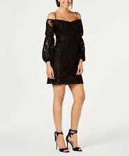 Laundry by Shelli Segal Women's Burnout Velvet Off-the-Shoulder Dress Size 2