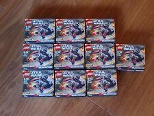 Job Lot Lego 75161 STAR WARS Tie Striker Microfighter X 10 Sets. New & Sealed.